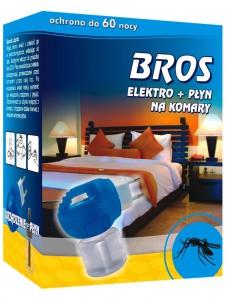"""Інсектицидний засіб """"BROS Електрофумігатор+рідина від комарів """""""