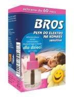 """Інсектицидний засіб """"BROS Електрофумігатор+рідина від комарів для дітей 60 ночей"""""""