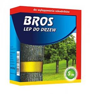 """Липуча стрічка  для дерев (липуча пов'язка) """"BROS"""" 5м"""