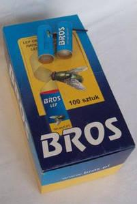 "Липуча стрічка від мух кругла ""BROS"""