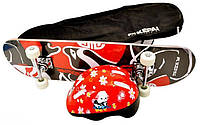 Скейтборд с защитным шлемом КЕРАІ