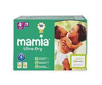 Подгузники Mamia Ultra-Dry Maxi Plus 4+ (7-18 кг) Jumbo Pack 78 шт.