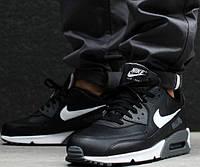 b5c236ae Кроссовки мужские кожаные Nike Air Max 90 Premium Leather (в стиле Найк)