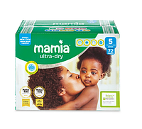 Подгузники Mamia Ultra-Dry Junior 5 (18-25 кг) Jumbo Pack 72 шт