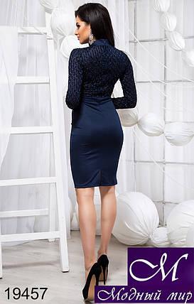Красивое женское платье до колена (р. S, M, L) арт. 19457, фото 2