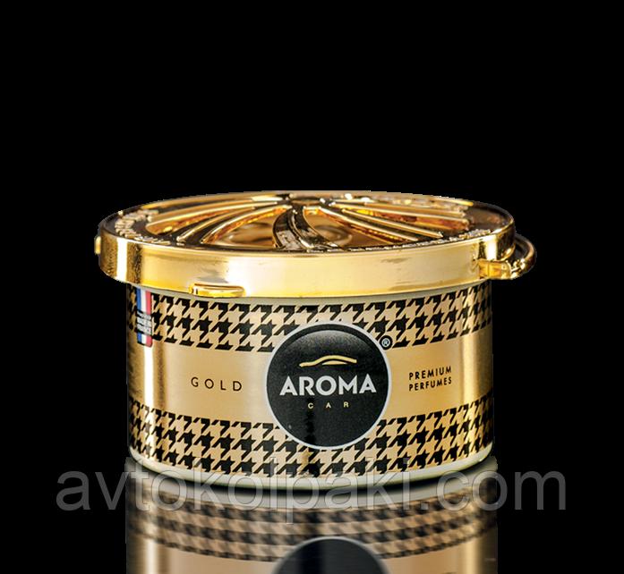 Ароматизатор в авто Голд ( Gold ) Aroma Organic