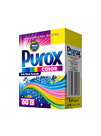 Порошок PUROX Color 5 кг 60 стир.