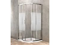 Угловая душевая кабина Dusel A-511 (800*800*1900) Silk Screen, фото 1
