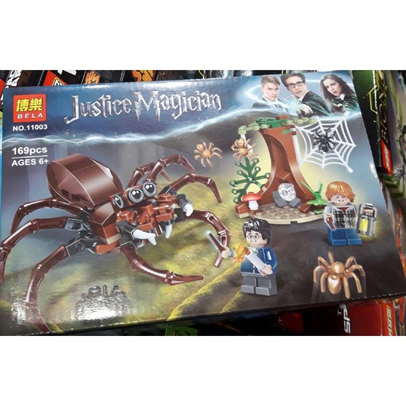 Конструктор Логово Арагога Justice Magician Bela 11003 169 деталей