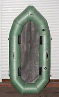 Лодка двухместная резиновая