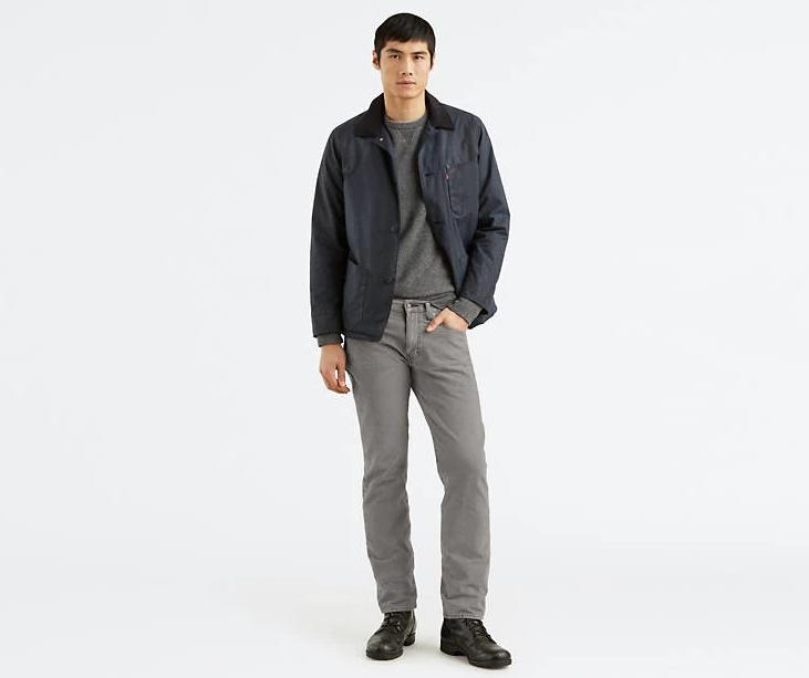 Вельветовые брюки Levis 514 - Mineral Gray
