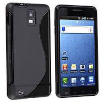 Чехол бампер Samsung Infuse 4G i997  TPU  черный