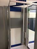 Душевая квадратная кабина Dusel A-513 800*800*1900 Clear (прозрачное стекло), фото 6
