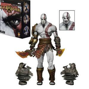 """Фигурка NECA God of War 3 Kratos Кратос """"Бог войны: Призрак Спарты"""""""
