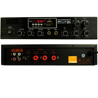 Трансляционный усилитель звука Big PA50 2zone USB/MP3/FM/BT