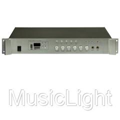 Трансляционный цифровой усилитель звука Big PA80 5zone USB/MP3/FM/BT