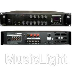 Трансляционный цифровой усилитель звука Big PADIG80 5zoneUSB/MP3/FM/BT