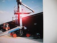 Погрузчик железнодорожных вагонов. Погрузка и разгрузка вагонов Элеватор «Гусиная шея» Р9-КТ2-Э