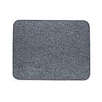 Электрический коврик с подогревом Теплик с термоизоляцией 50 х 40 см Темно-серый, фото 1