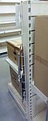 Навесные крючки для стеллажей, крючки, кронштейны, прутья с крючками 110см