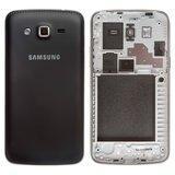 Корпус для смартфона Samsung G7102 Grand Duos 2, черный