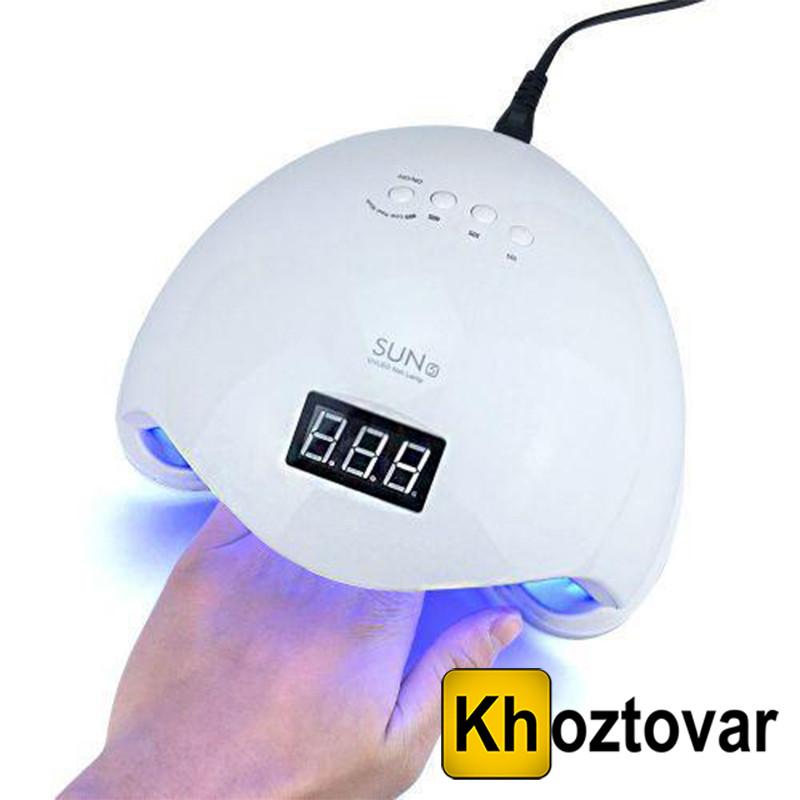 Лампа для сушіння гель лаків 24W+LCD SUN-5