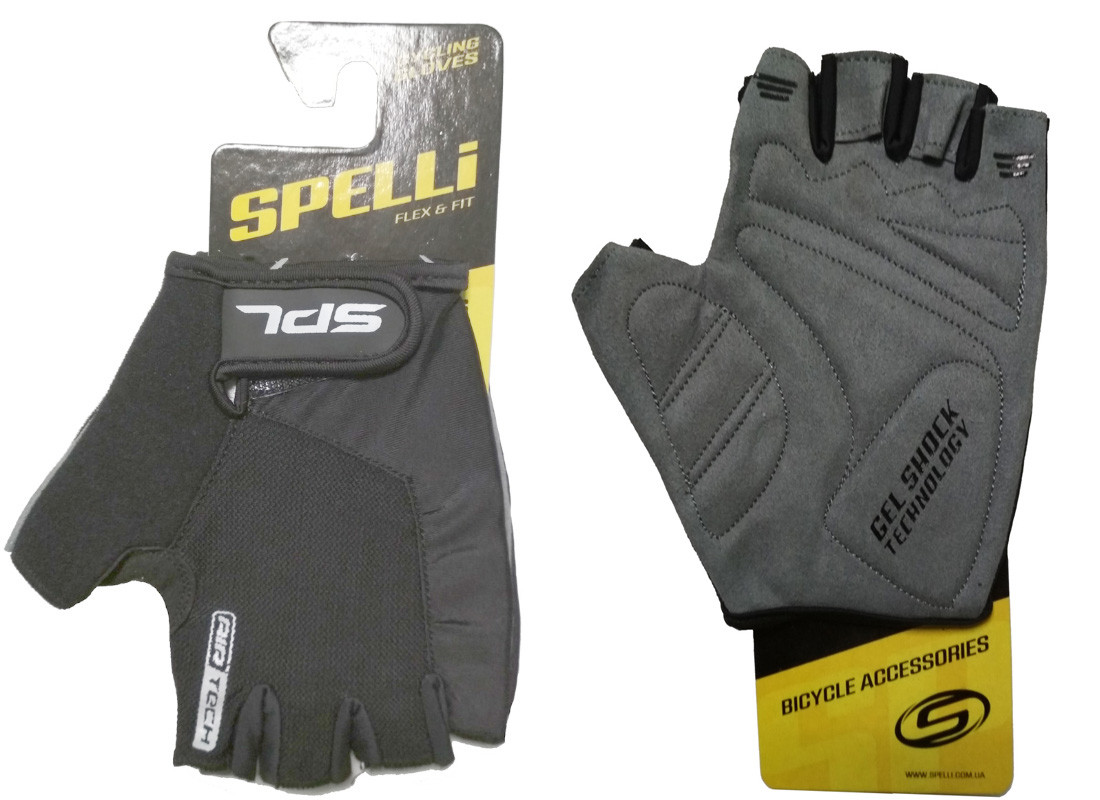 "Перчатки Spelli SBG-1457 Black ""S"""