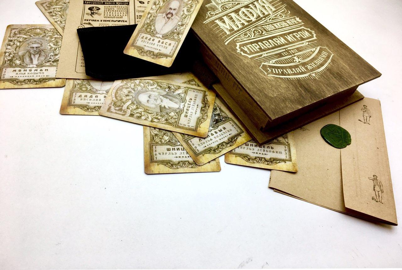 Одесская мафия (дерево) 24-18-4,5 см (Odessa Monopoly Inc.)