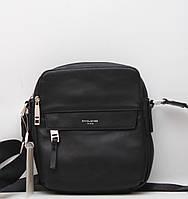 4f68e97f8b43 Стильная мужская кожаная (кожа искусственная) сумка David Jones / Дэвид  Джонс