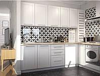 Кухня в скандинавском стиле в хрущевке , фото 1