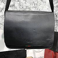 Messenger Gucci Flap Black, фото 1