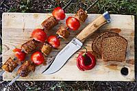Нож  охотничий Егоза, общая длина 25.5 см, чехол из ткани