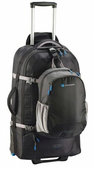 b12c4b74bead Дорожная сумка-рюкзак Caribee Fast Track 925981, черная, 85л - SUPERSUMKA  интернет магазин