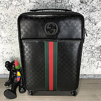 Gucci Rolling Luggage Signature 55 with Web Black, фото 1