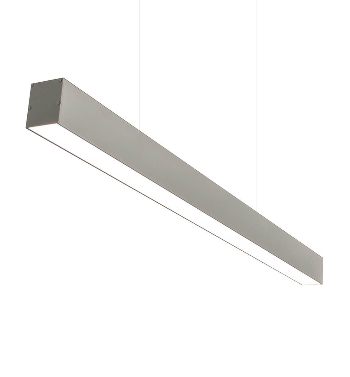 LED Trand-1000: 68W 7500Lm линейный LED-светильник (74х77х1000мм)