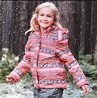 Зимний термокомбинезон Topolinoдля девочки 116см раздельный