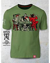 PEKLO.TOYS футболка Преферанс Olive