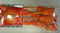 Подовжувач OCTOPUS помаранч.2спіральн+4 зв. каб.