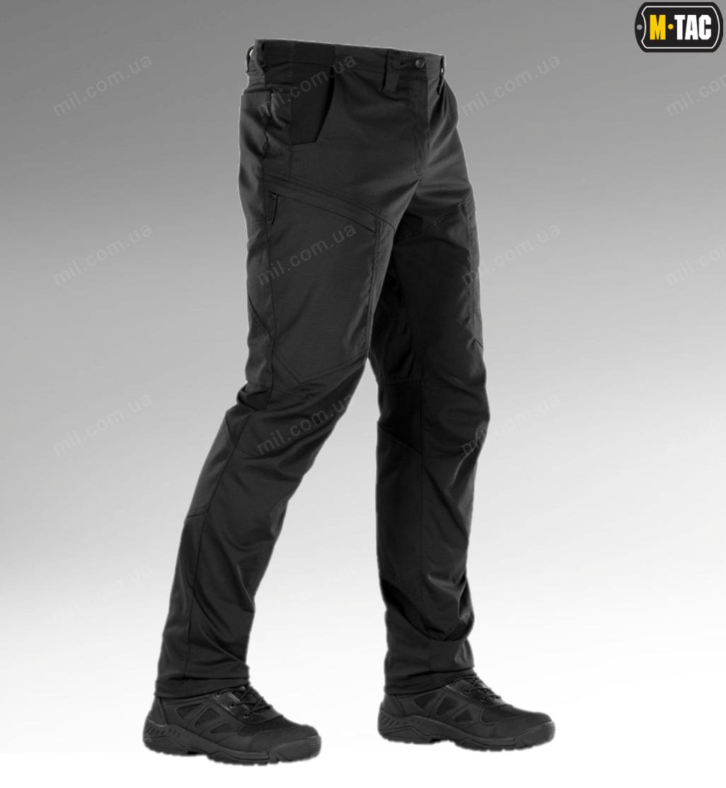 Тактические брюки / штаны M-TAC PATROL FLEX (black)