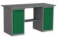 Верстак металлический для мастерской АМКвмм-2 850х1600х750мм