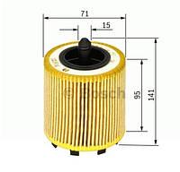 Масляний фільтр Volkswagen T5, BOSCH 1457429192
