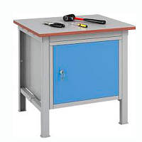 Металлический стол для мастерской АМК/смм-1 750х600х600 мм