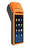 """POS-терминал с встроенным принтером чеков Sunmi V1 """" 58 мм Android Черно-оранжевый Android 3G Wi-Fi"""