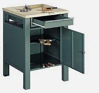 Металлический стол для мастерской АМК/смм-3 850х600х600 мм