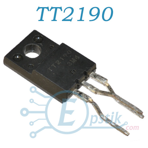 TT2190LS, транзистор біполярний NPN, 6А 1500В, TO220F