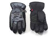 Перчатки Kombi STRIKE JR, подростковые, хаки, с зелёной прошивкой, размер S