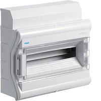 Распределительный щит Vector Hager внешней установки на 18 (20) модулей IP65 с прозрачной дверцей