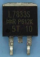 MOSFET N-канал 30В 150А 3.8мОм IR IRL7833S TO263