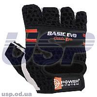 Перчатки Power System PS-2100 Basic EVO перчатки для тренажерного залазащита рук на тренировке