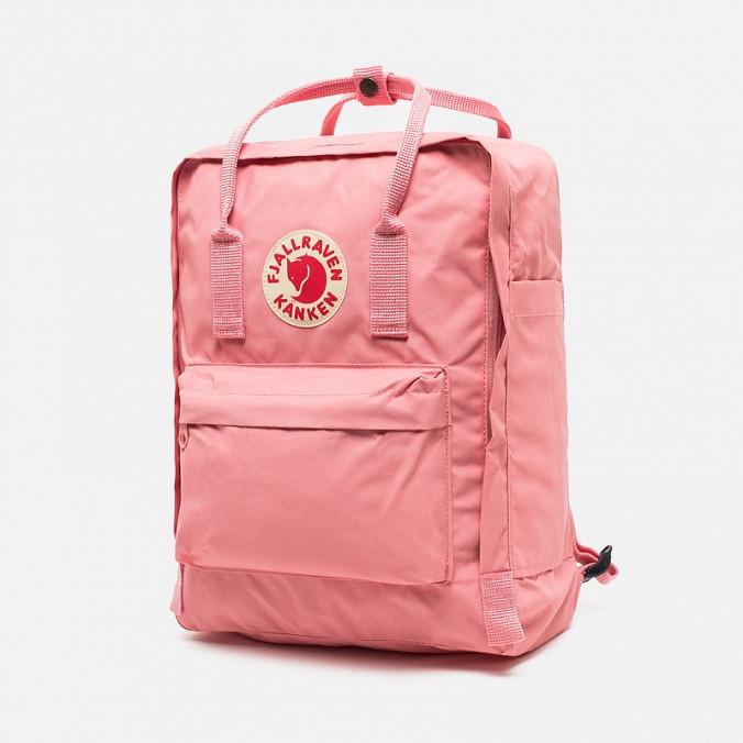 Рюкзак Fjallraven Kanken, 16л, Розовый, Материал: Vinylon F 100%, фото 1